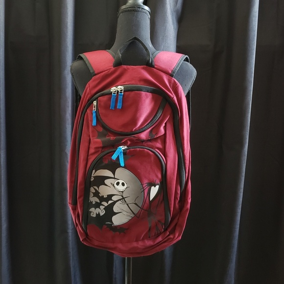 Hot Topic Nightmare Before Christmas Backpack.Disney Nightmare Before Christmas Jack Backpack
